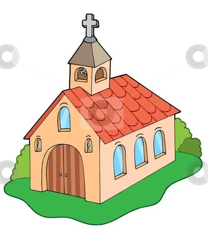 European style church stock vector clipart, European style church - vector illustration. by Klara Viskova