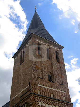 Church view stock photo, St. John's church in Tartu, Estonia by Alessandro Rizzolli
