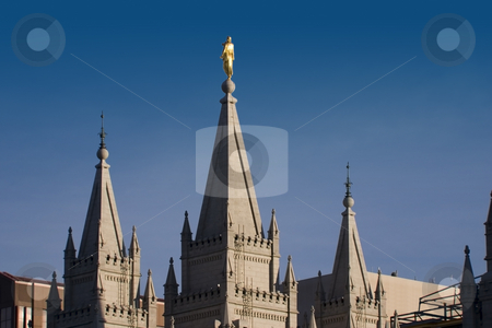 Mormon Temple in Salt Lake City stock photo, Mormon Temple in Salt Lake City, Utah by Mehmet Dilsiz