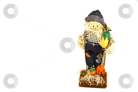Halloween Decoration  stock photo, Halloween Decoration - Scarecrow by Mehmet Dilsiz