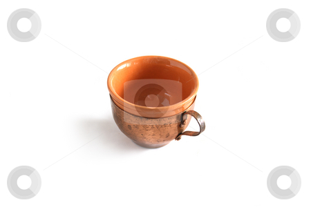 Coffee-pot stock photo, Coffee-pot on white background by Minka Ruskova-Stefanova