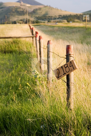 Countryside Fence stock photo, Wooden Fence by the Countryside by Mehmet Dilsiz
