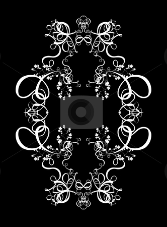 Decorative Abstract Digital Design - Circular Frame Background stock photo, Abstract Digital Background Design by Mehmet Dilsiz
