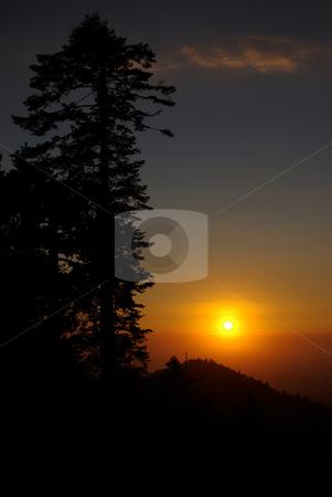 Sunset in the Sierras 4 stock photo,  by Kristine Keller