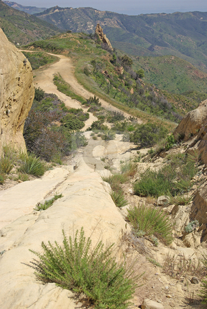 Long Trail stock photo, A long, rugged trail. by Kristine Keller