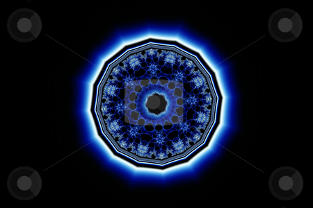 Fractal jewel (24c) stock photo, Abstract fractal design. reminding of some king of jewelry by Germán Ariel Berra