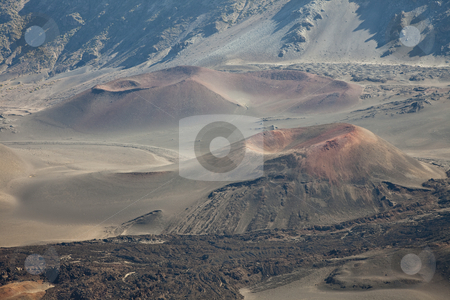 Craters stock photo, Haleakala National Park, East Maui Volcano, Maui, Hawaiian Islands, United States by mdphot
