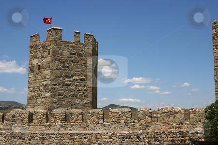 Turkish Castle stock photo, Turkish Castle in Western Turkey by Mehmet Dilsiz