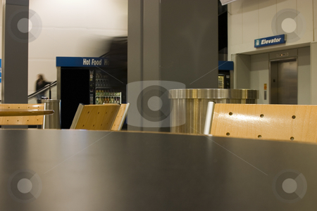Table, People and the Airport Life stock photo, Tables, People and the Airport Life by Mehmet Dilsiz