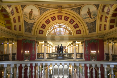 Second Floor of Capital Building  stock photo, Second Floor of Capital Building in Helena Montana by Mehmet Dilsiz