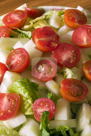 Close up on a Bowl of Salad  stock photo, Close up on a Bowl of Salad by Mehmet Dilsiz