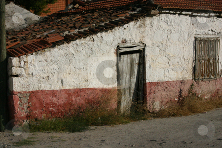 Unoccupied House stock photo, Unoccupied Mediterranean House by Mehmet Dilsiz