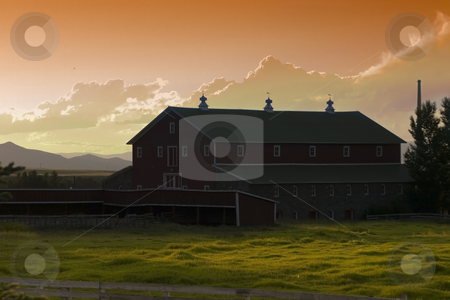 The Ranch stock photo, Countryside Ranch by Mehmet Dilsiz