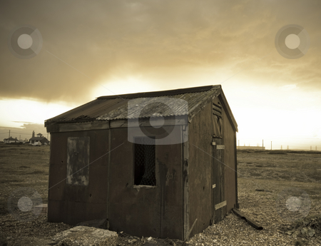 Cabin stock photo, Old cabin middle of no where by Fredrik Elfdahl