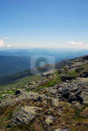 Mountain landscape stock photo, Picture of a typical Eastern North American landscape by Alain Turgeon