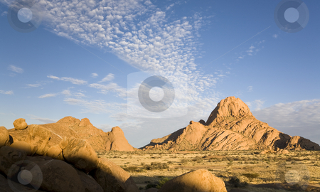 Spitzkoppe stock photo, Group of granite peaks, Namib desert, Republic of Namibia, Southern Africa by mdphot