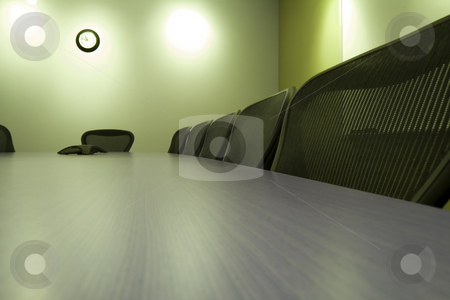 Chairs in a Row in the Conference Room stock photo, Conference Room with the empty chairs by Mehmet Dilsiz