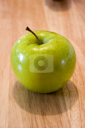 Apples on the Table stock photo, Apple on the Counter by Mehmet Dilsiz