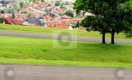 Serenity scenery stock photo, Beautiful scene of a countryside in south east asia by R. Eko Bintoro