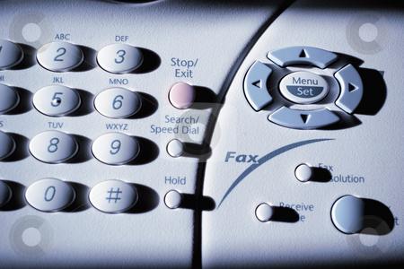 Multifunction fax machine stock photo, Dial button arrangement of a multifunction fax machine by R. Eko Bintoro