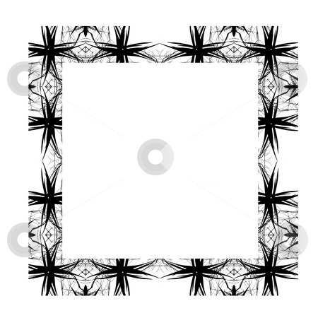 Decorative Abstract Digital Design - Square Frame Background stock photo, Abstract Digital Background Design by Mehmet Dilsiz