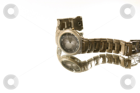Isolated Wrist Watch stock photo, Isolated Wrist Watch - White Background by Mehmet Dilsiz
