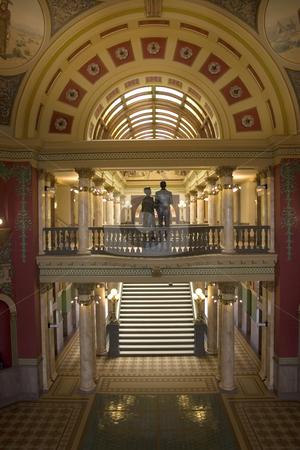 Capital Building of Montana stock photo, Inside the Capital Building of Montana in Helena by Mehmet Dilsiz