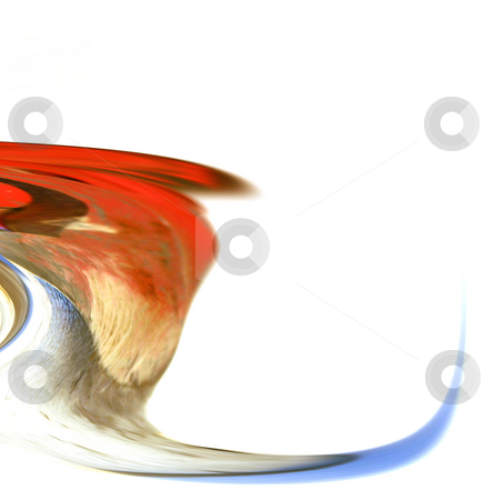 Digital Abstract Art - Waterfall to Wave stock photo, Abstract Art - Waterfall to Wave by Mehmet Dilsiz