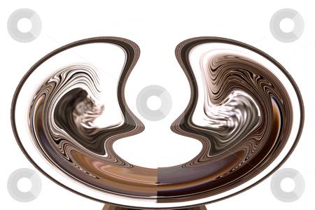 Digital Abstract Art - Fortune Teller Bowl stock photo, Abstract Art - Fortune Teller Bowl by Mehmet Dilsiz