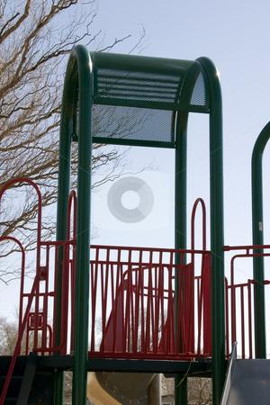 Playground stock photo, Playground in Spring by Mehmet Dilsiz