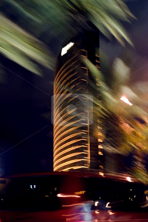Abstract Blurry Las Vegas Nights stock photo, Abstract Blurry Las Vegas Nights by Mehmet Dilsiz