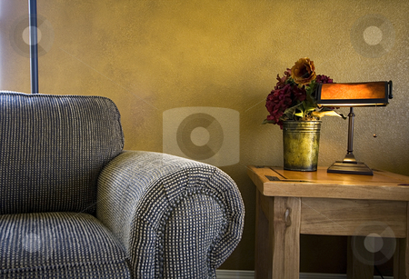 Trendy Modern Living Room stock photo, Close up on a Trendy Modern Living Room by Mehmet Dilsiz