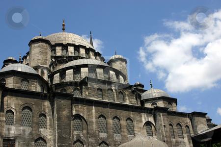 Mosque in Istanbul stock photo, Hagia Sophia Mosque / Church - Museum in Istanbul, Turkey by Mehmet Dilsiz