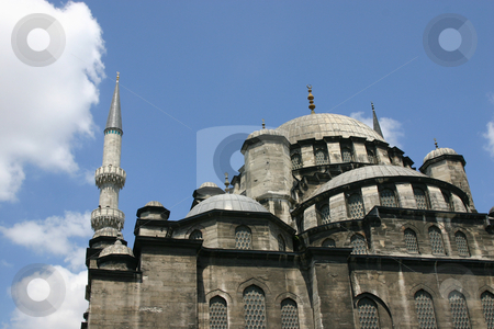 Mosque in Istanbul stock photo, Hagia Sophia Mosque / Church - Museum in Istanbul, Turkey by Mehmet Dilsiz