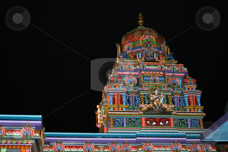 Hindu Temple stock photo,  by Rhys Marsh