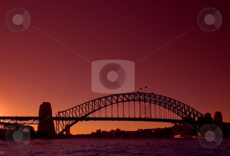 Big Red stock photo, Australia is the land of Red: red earth and red sky by Robin Ducker