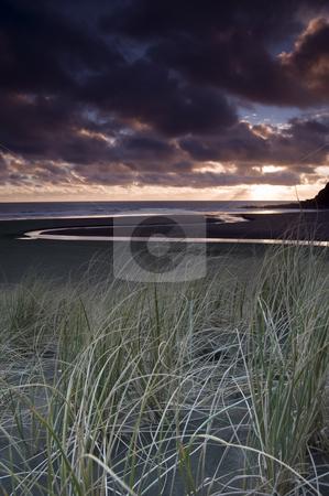 KareKare sands stock photo, Black sand?? by Robin Ducker