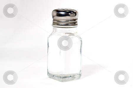 Isolated Salt Shaker stock photo, Isolated Salt Shaker - on White Background by Mehmet Dilsiz
