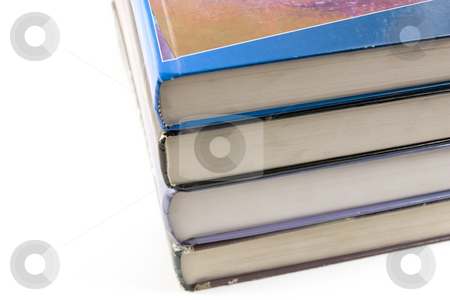 Old Books Stacked Up stock photo, Old Books by Mehmet Dilsiz