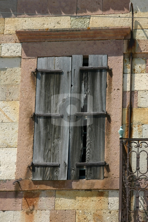 Old Unoccupied Church Window in Candarli, Turkey stock photo, Old Unoccupied Church Window in Turkey by Mehmet Dilsiz