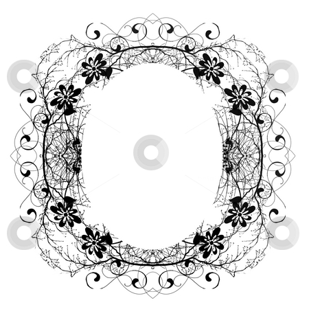Decorative Abstract Digital Design - Circular Frame stock photo, Abstract Digital Background Design by Mehmet Dilsiz