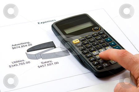 Cutting Cost stock photo, Recession Analysis - Cutting Cost to Save Money by Mehmet Dilsiz
