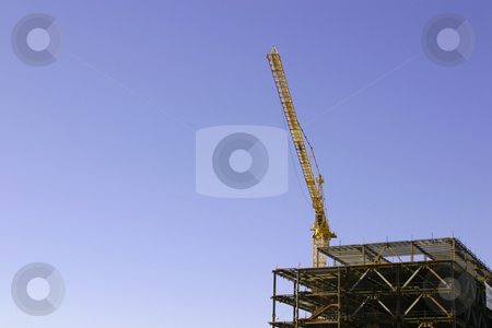 Construction site stock photo, Construction site- Zoomed in by Mehmet Dilsiz