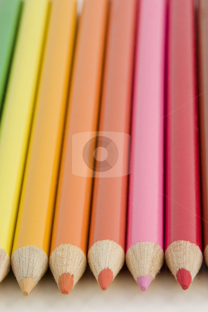 Coloring Pencils stock photo, Colored Pencils by Mehmet Dilsiz