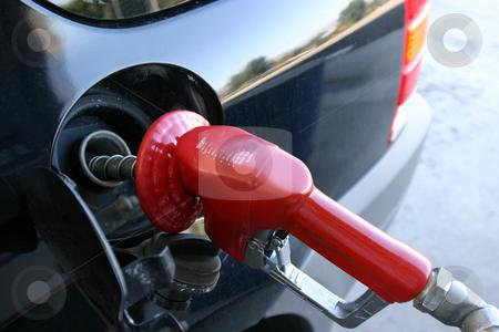 Gas Pump Nozzle stock photo, Close up on a Gas Pump Nozzle by Mehmet Dilsiz