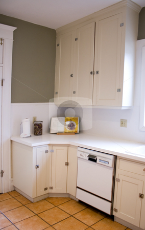Kitchen stock photo, Close up on a Kitchen in a Nice House by Mehmet Dilsiz