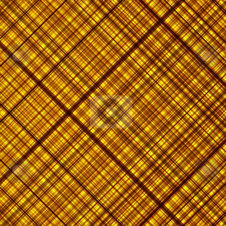 Golden colors abstract diagonal grid pattern background. stock photo, Golden colors abstract diagonal grid pattern background. by Stephen Rees