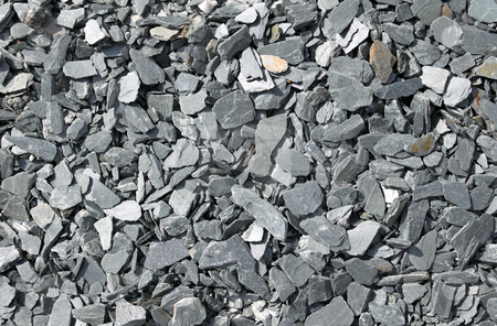 Gray broken slate stone abstract background. stock photo, Gray broken slate stone abstract background. by Stephen Rees