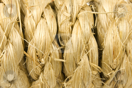 Braided rope background stock photo, Close up of a braided rope background by John Teeter