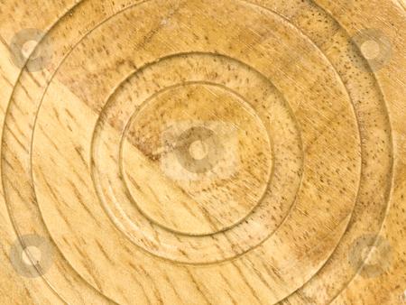 Wooden Circular Background stock photo, Macro of Wooden Circular background by John Teeter